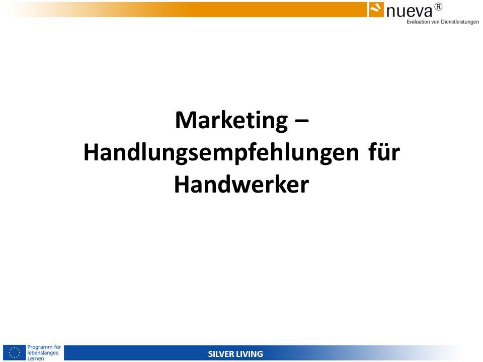 Marketing – Handlungsempfehlungen für Handwerker