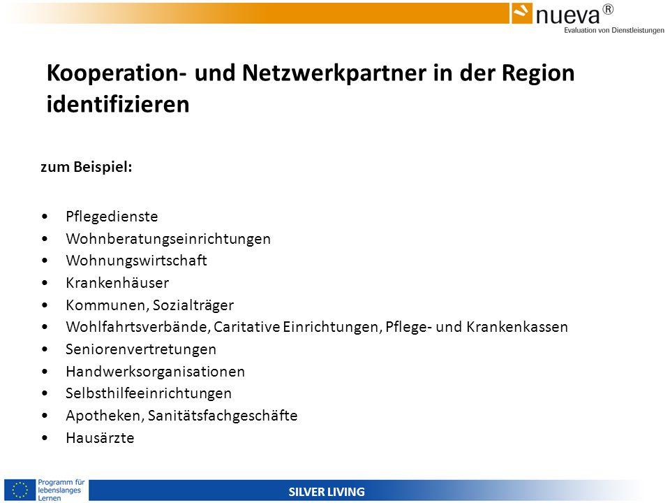 Kooperation- und Netzwerkpartner in der Region identifizieren