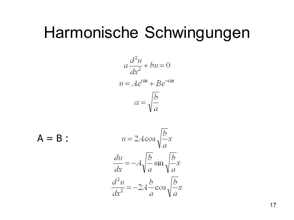 Harmonische Schwingungen