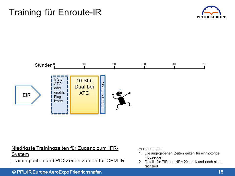 Training für Enroute-IR
