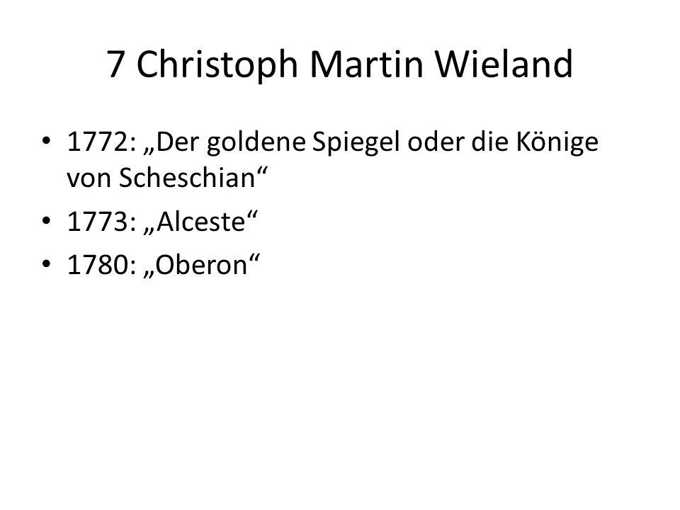 7 Christoph Martin Wieland