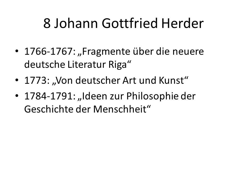 8 Johann Gottfried Herder