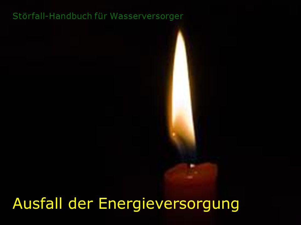 Ausfall der Energieversorgung