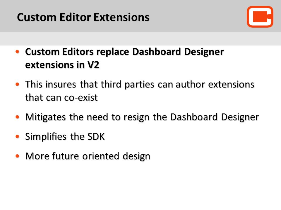 Custom Editor Extensions