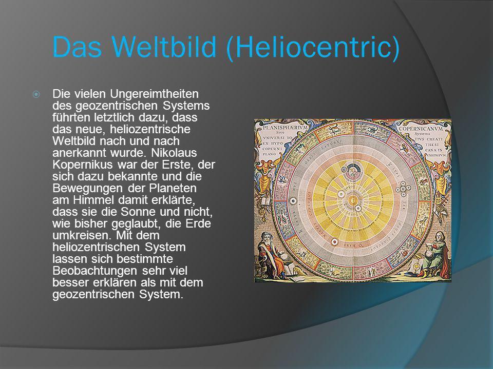 Das Weltbild (Heliocentric)