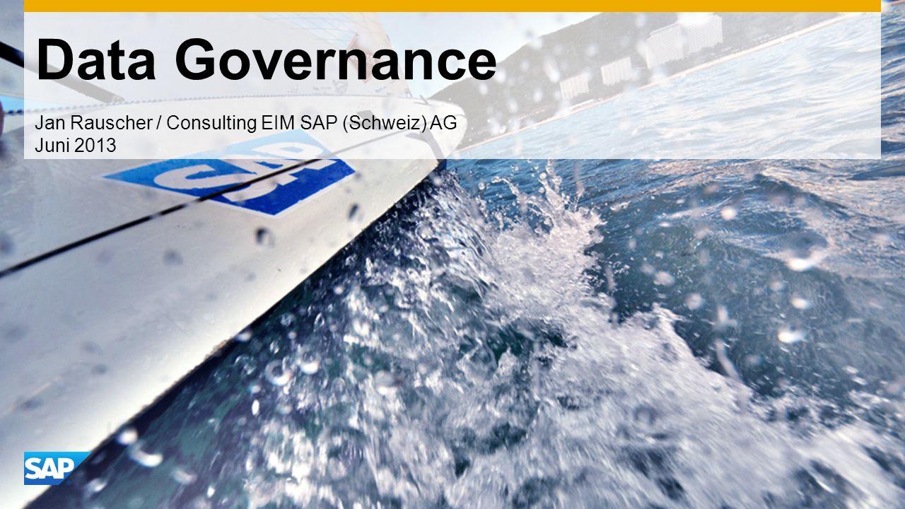 Jan Rauscher / Consulting EIM SAP (Schweiz) AG Juni 2013