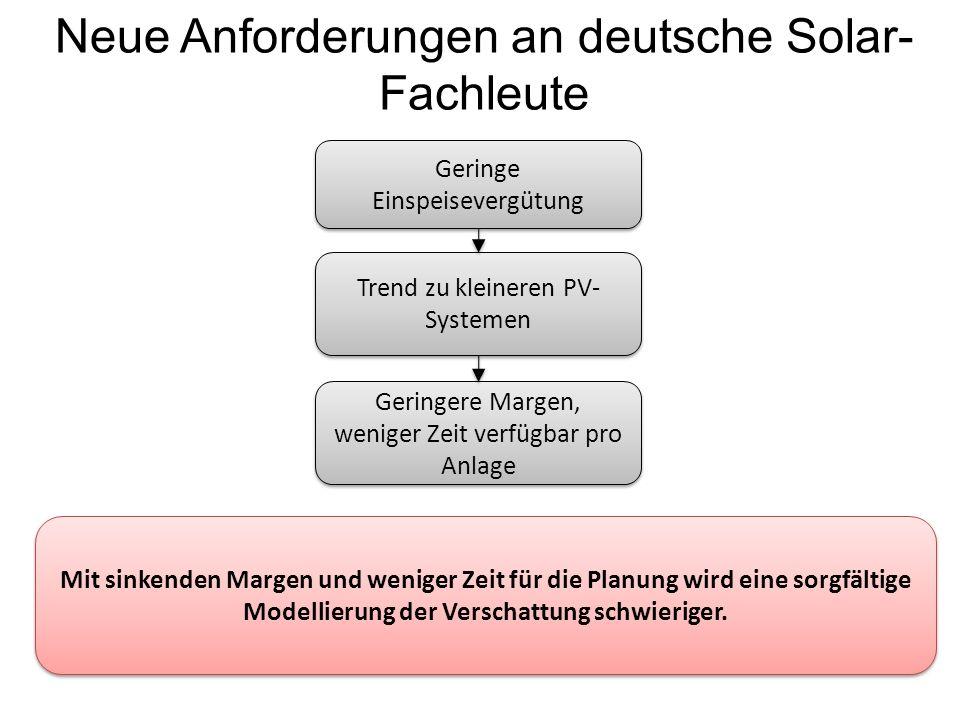 Neue Anforderungen an deutsche Solar-Fachleute