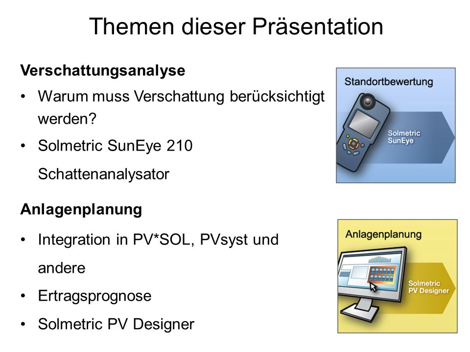 Themen dieser Präsentation