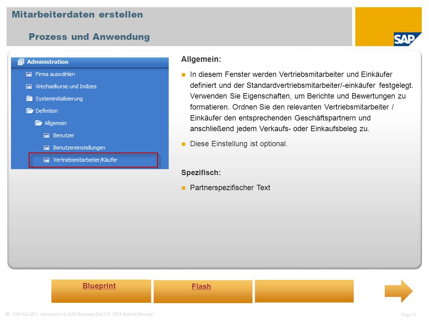 Mitarbeiterdaten erstellen Prozess und Anwendung
