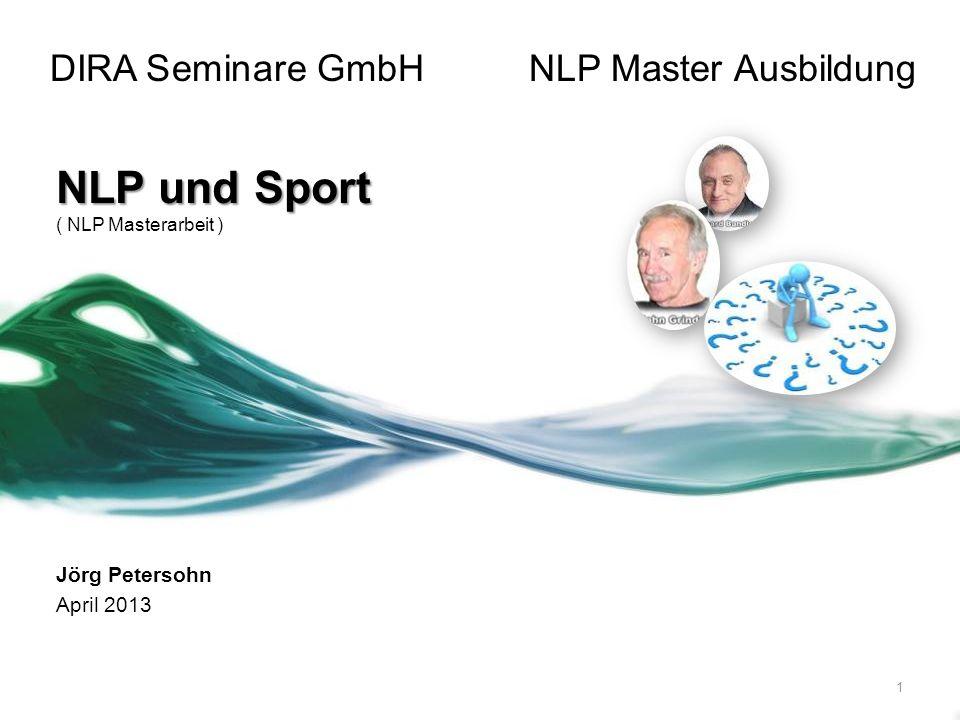 DIRA Seminare GmbH NLP Master Ausbildung