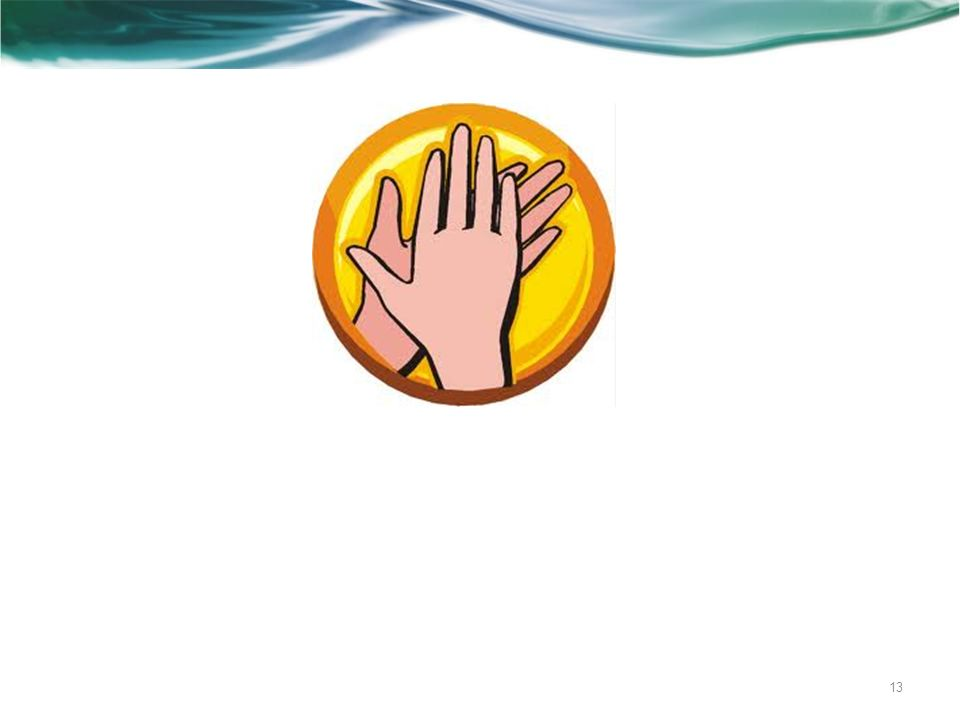"""… Einblendung des Bildes """"klatschende Hände , um zu sehen, welches Programm bei den Besuchern/Zuhörern abläuft ."""