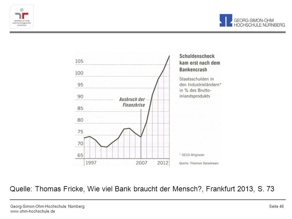 Quelle: Thomas Fricke, Wie viel Bank braucht der Mensch