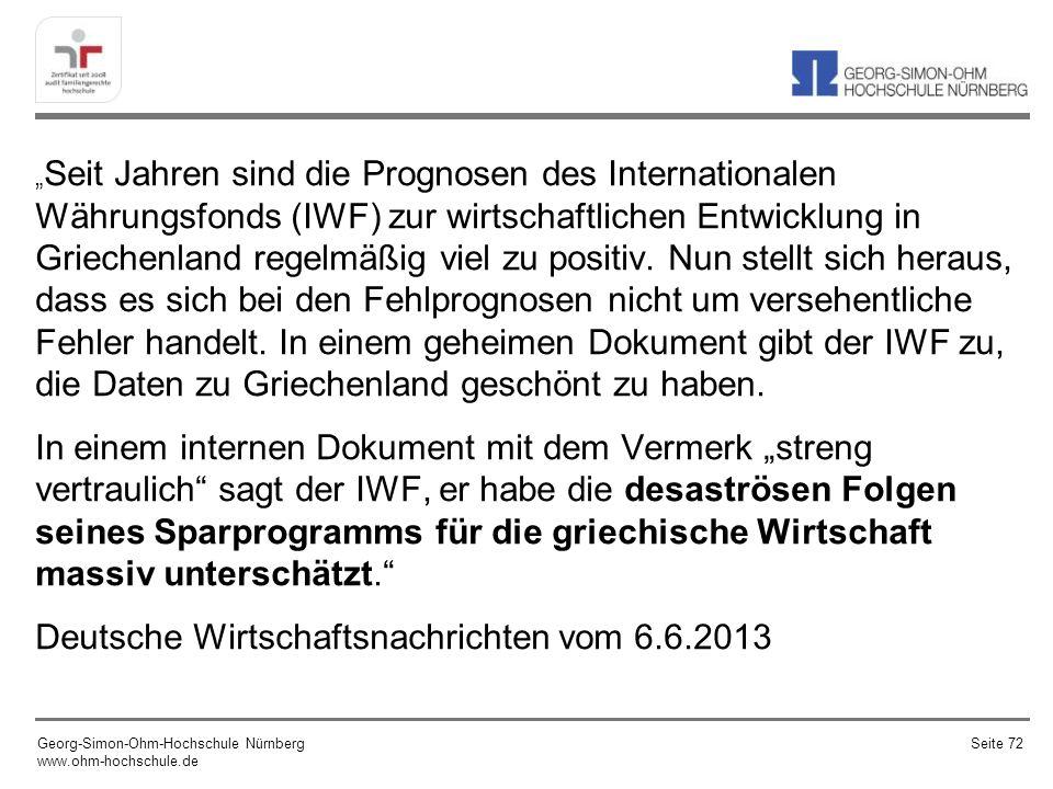 Deutsche Wirtschaftsnachrichten vom 6.6.2013