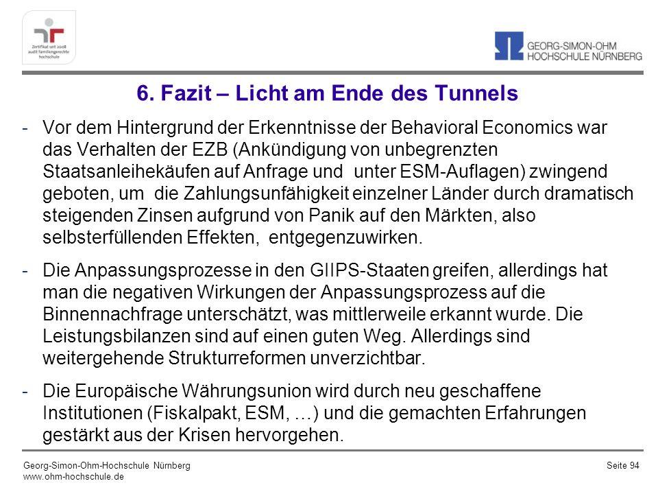 6. Fazit – Licht am Ende des Tunnels