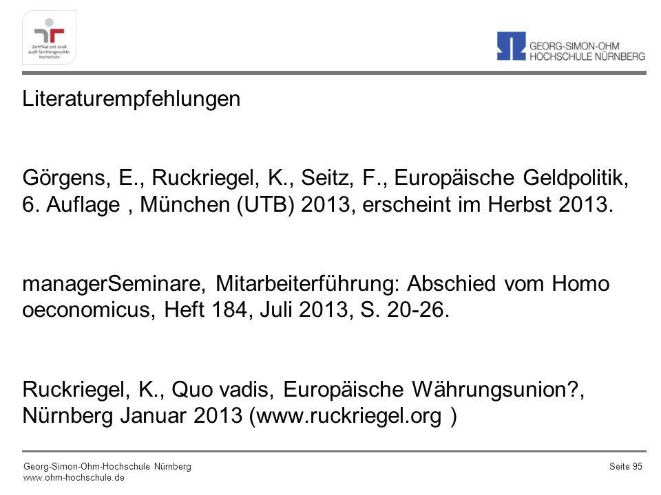 Literaturempfehlungen Görgens, E. , Ruckriegel, K. , Seitz, F