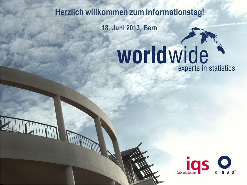 Herzlich willkommen zum Informationstag!