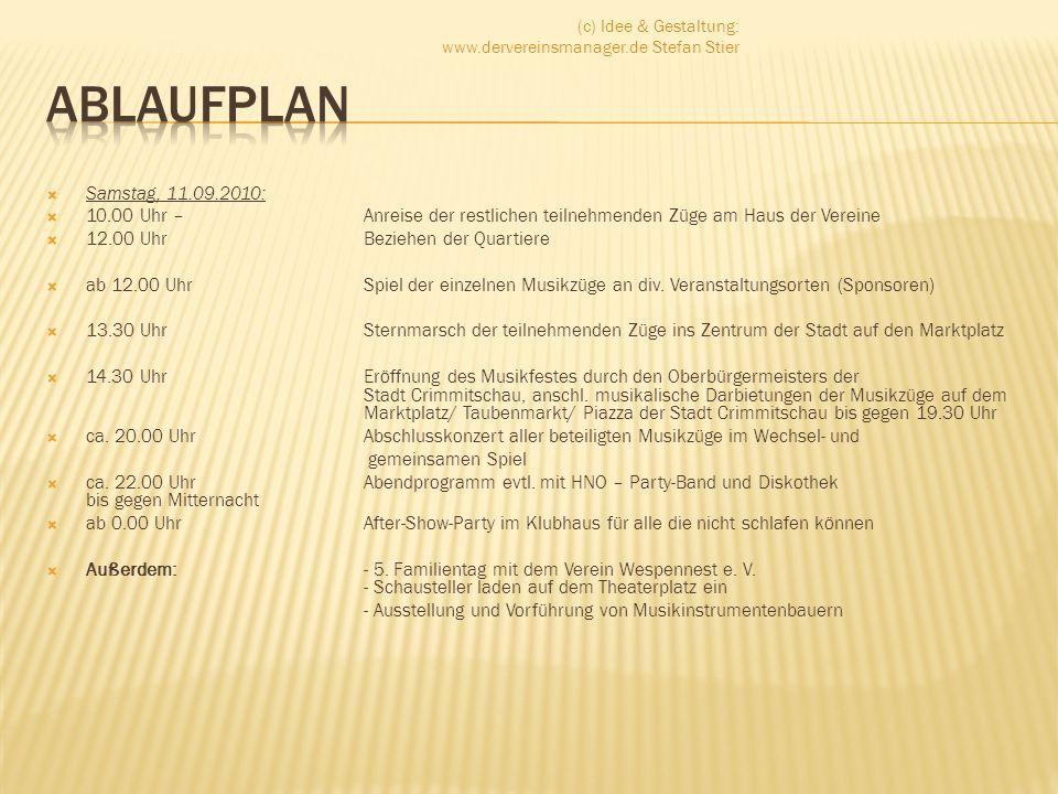 (c) Idee & Gestaltung: www.dervereinsmanager.de Stefan Stier