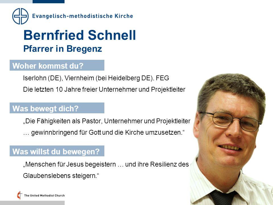 Bernfried Schnell Pfarrer in Bregenz
