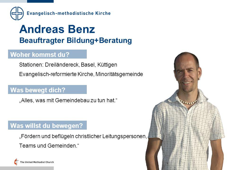Andreas Benz Beauftragter Bildung+Beratung