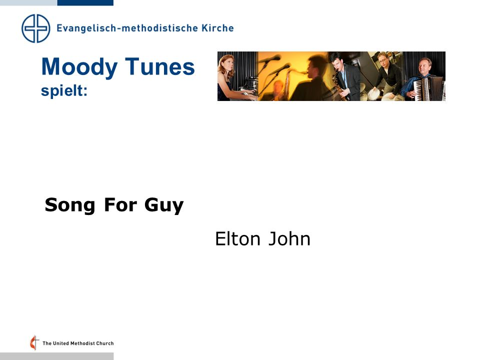 Moody Tunes spielt: Song For Guy Elton John Folie 27: