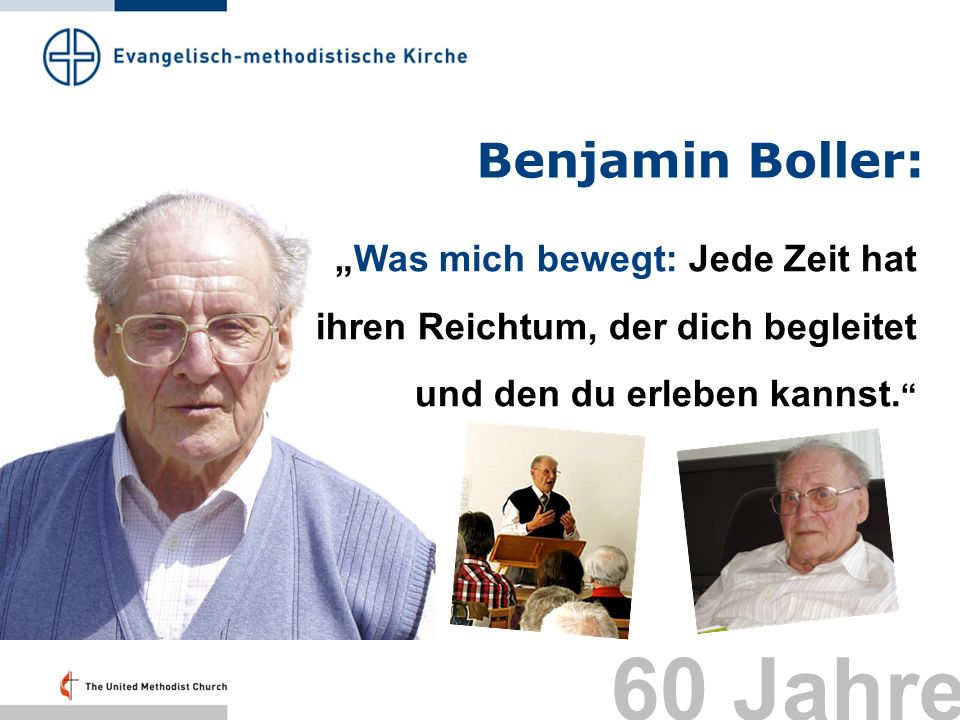 60 Jahre Benjamin Boller: