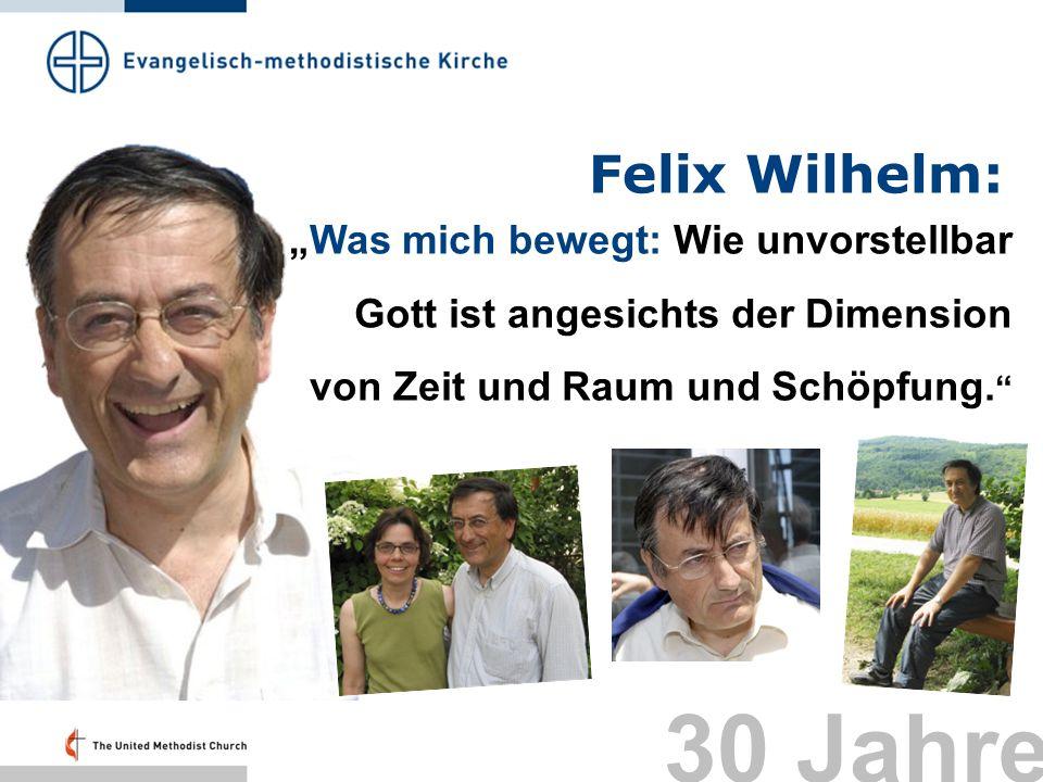 """Felix Wilhelm: """"Was mich bewegt: Wie unvorstellbar Gott ist angesichts der Dimension von Zeit und Raum und Schöpfung."""