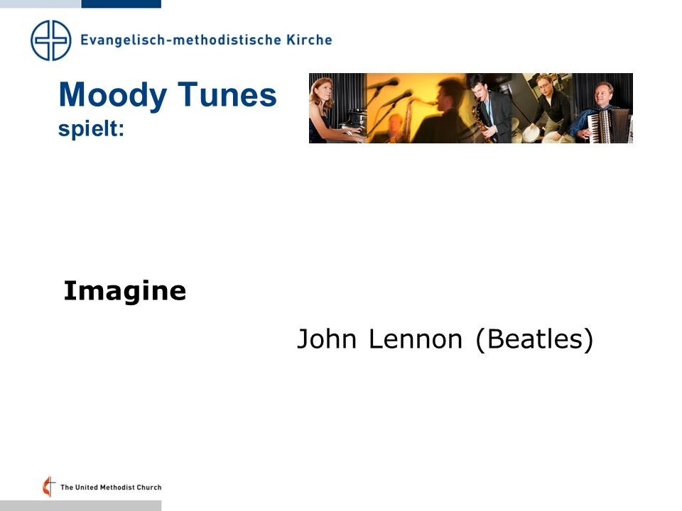 Moody Tunes spielt: Imagine John Lennon (Beatles)