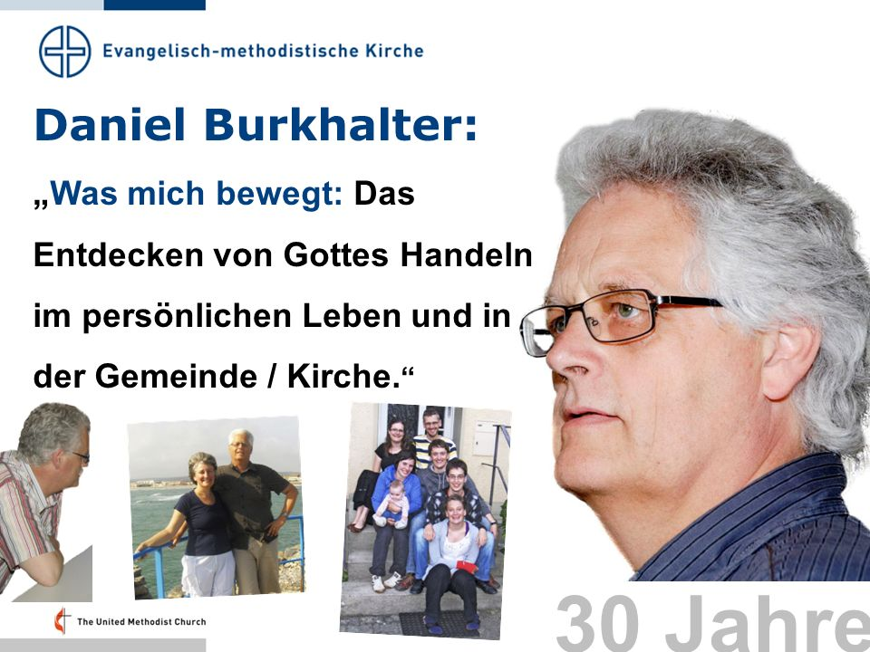 30 Jahre Daniel Burkhalter: