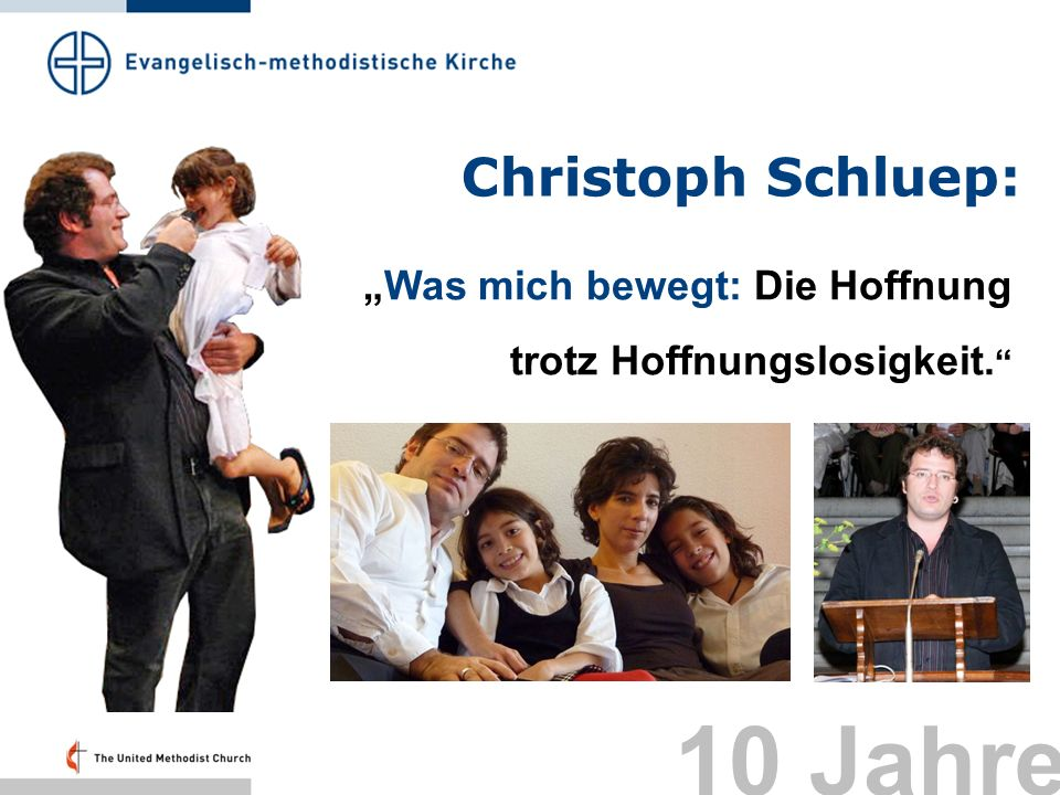 10 Jahre Christoph Schluep: