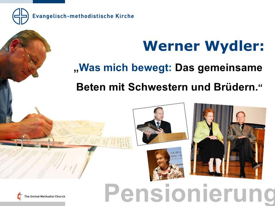Pensionierung Werner Wydler: