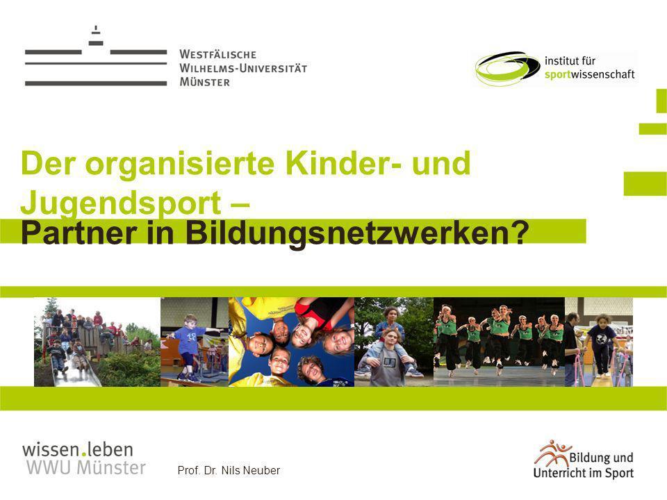 Der organisierte Kinder- und Jugendsport –