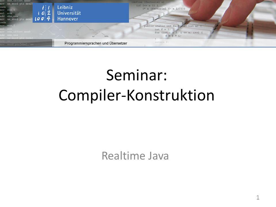 Seminar: Compiler-Konstruktion