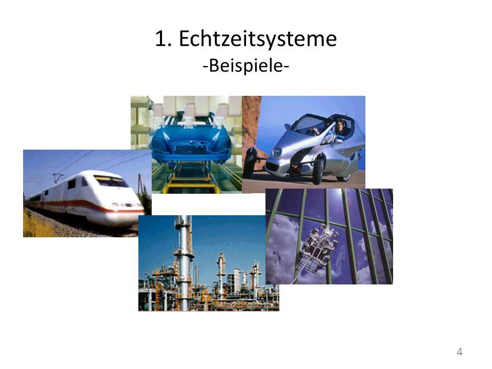 1. Echtzeitsysteme -Beispiele-