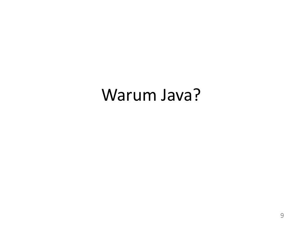 Warum Java