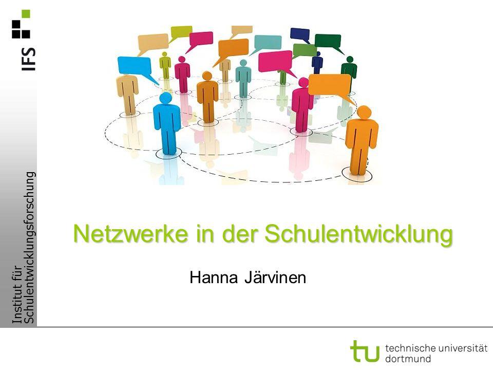Netzwerke in der Schulentwicklung