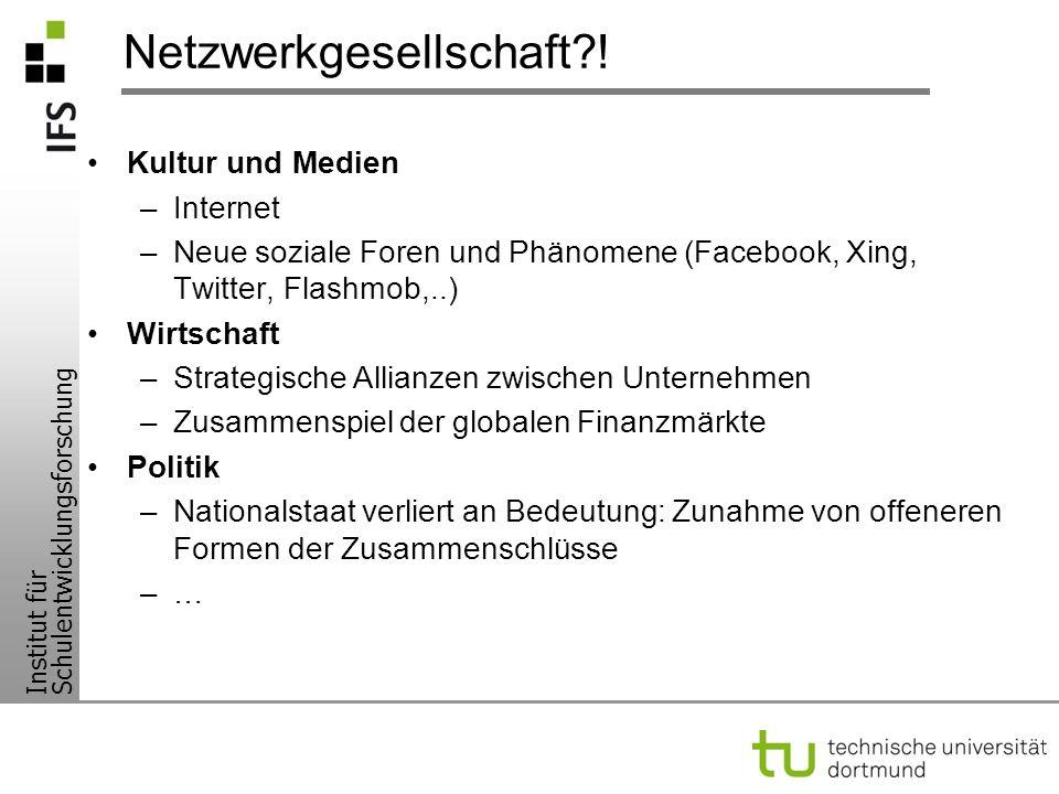 Netzwerkgesellschaft !