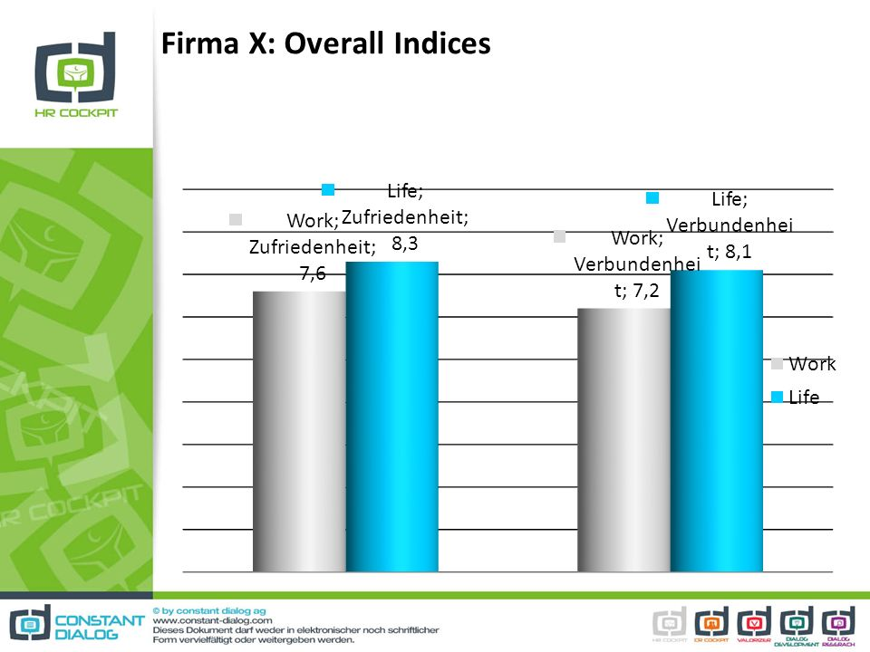 Firma X: Overall Indices