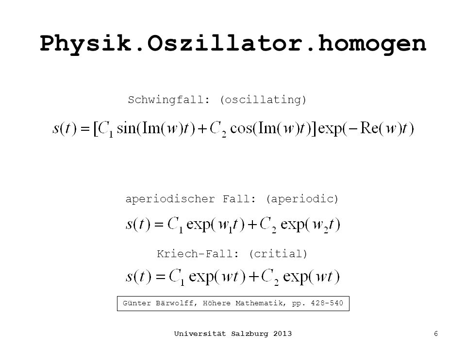 Physik.Oszillator.homogen