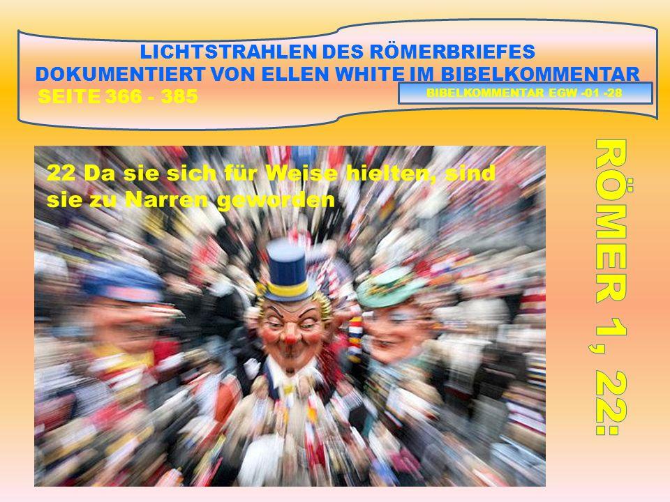 LICHTSTRAHLEN DES RÖMERBRIEFES