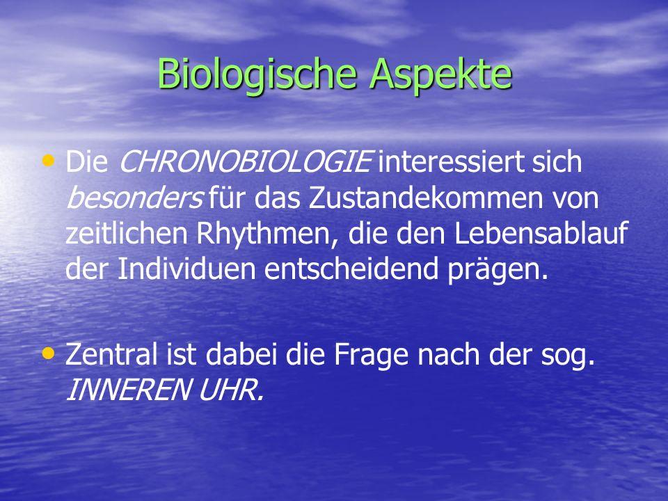 Biologische Aspekte