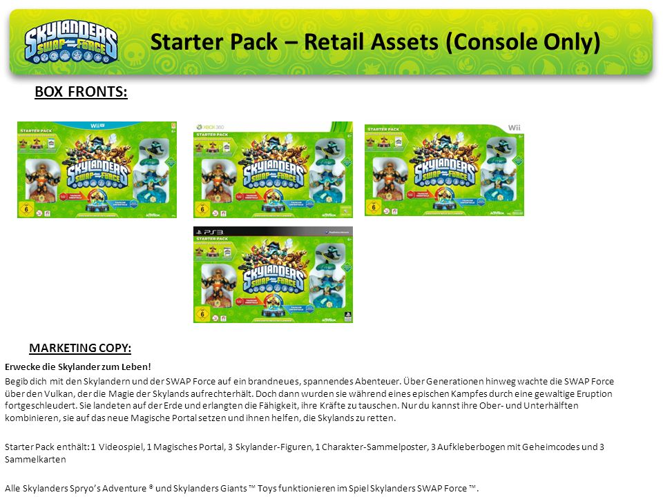 Starter Pack – Retail Assets (Console Only)