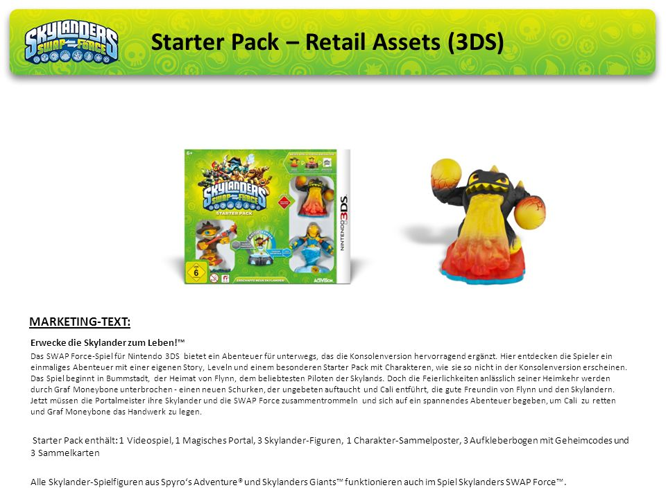 Starter Pack – Retail Assets (3DS)