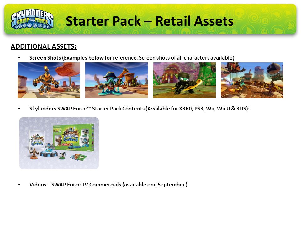 Starter Pack – Retail Assets