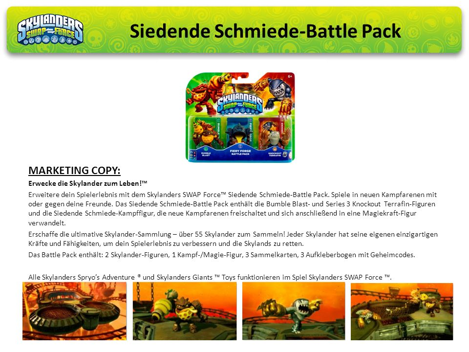Siedende Schmiede-Battle Pack