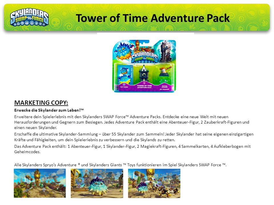 Tower of Time Adventure Pack