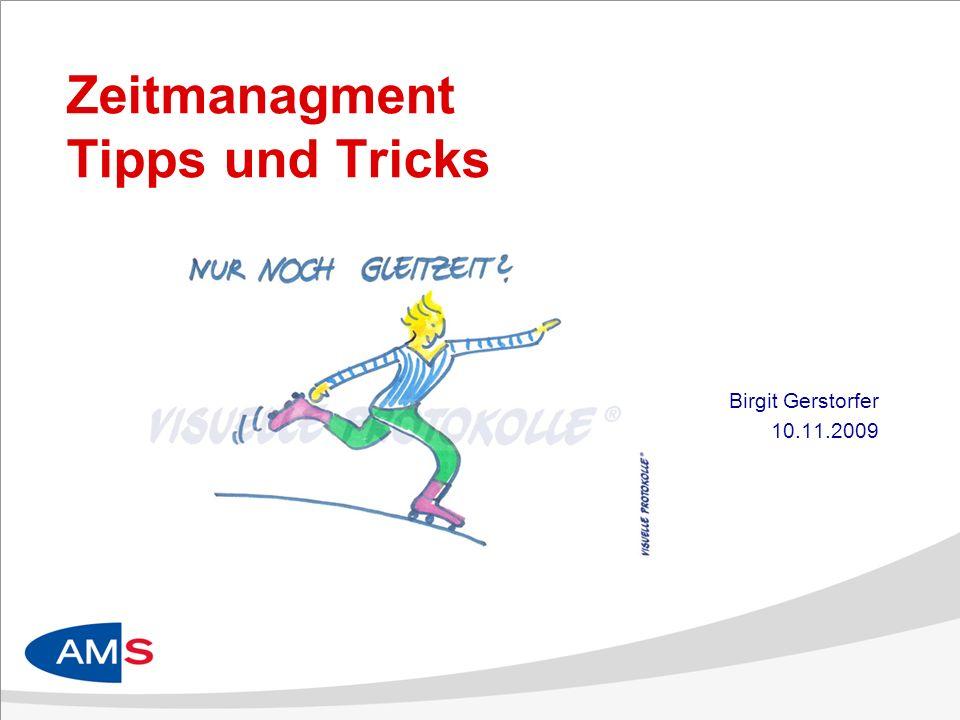 Zeitmanagment Tipps und Tricks