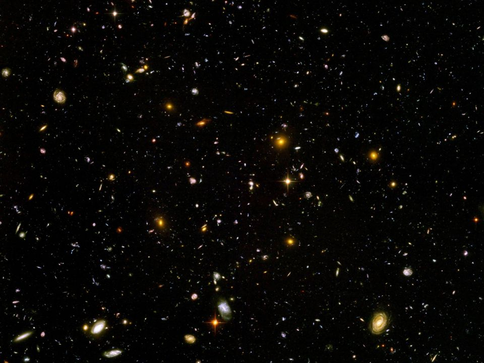 HST Deep Field Hubble Space Telescope – Deep Field