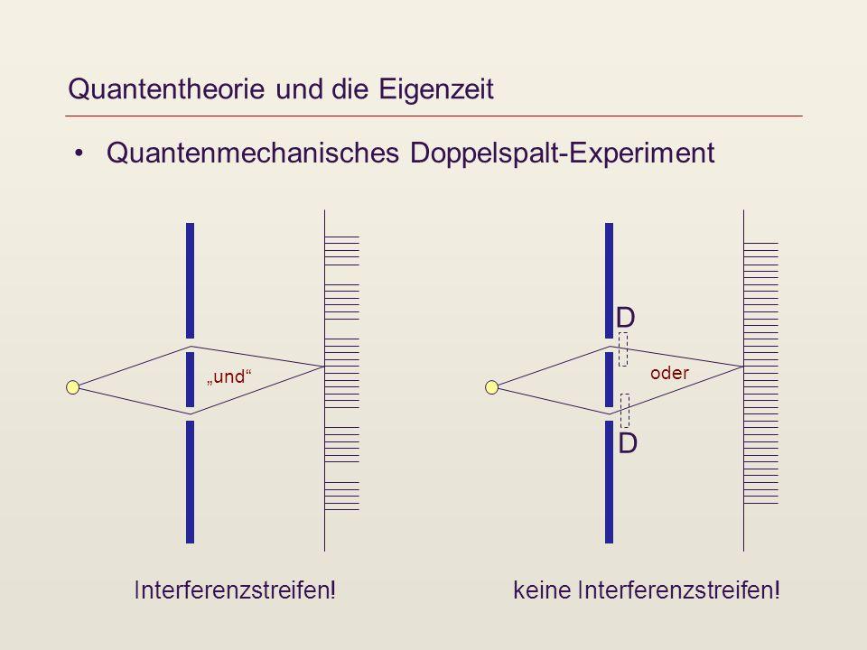 Quantentheorie und die Eigenzeit