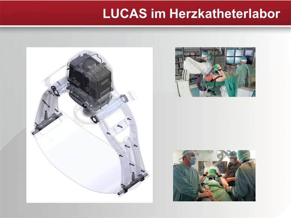 LUCAS im Herzkatheterlabor