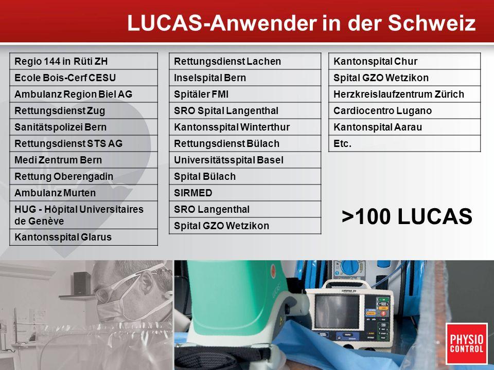 LUCAS-Anwender in der Schweiz